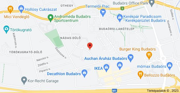 Budaörs, Puskás Tivadar út 4, 2040 térképe